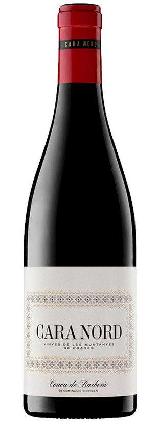 botella vino tinto cara nord