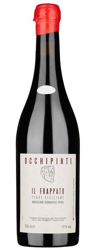botella vino tinto il frappato