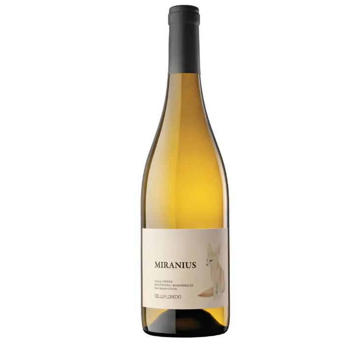 botella vino blanco miranius